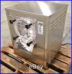 Gelato Machines IM9 Gelato Ice Cream Dipping Cabinet Freezer Display Cases