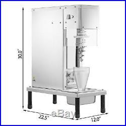 Gelato Yogurt Ice Cream Blending Machine Milkshake Machine Ice Cream Mixer SUS