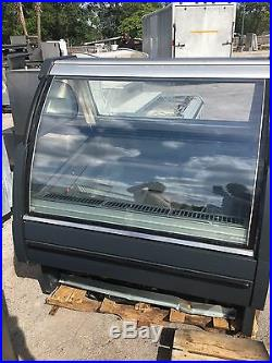 Gelato display case
