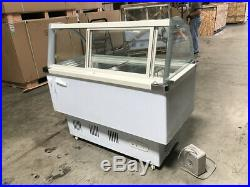 Gelato showcase Commercial Popsicle freezer display cabinet Freezer Ice Cream