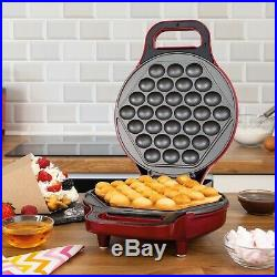 Global Electric 700W Eggettes Cake Ice Cream Cone Bubble Waffle Maker Machine