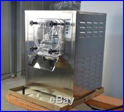 Hard Ice Cream Machine 1400W 10-20 L/H Hard Serve Ice Cream Machine LCD Display