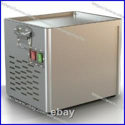 Home Electric Fry Pan Ice Cream Rolled Fried Ice Cream Yogurt Roll Machine Maker