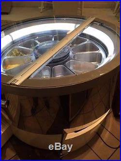 IFI Punto Gelato Rotating Display Case Refrigerated