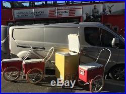 Ice Cream Cargo Trailer Push Along Business On Wheels