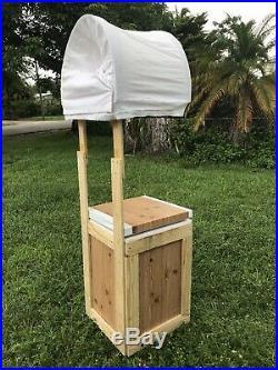 Ice Cream Cart Model Retro