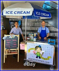 Ice Cream Cart-Used C. Nelson BDC-8 with Cold Plates