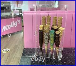 Ice Cream Cone Display/Storage Case