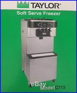 Ice Cream Machine Taylor C713-33 Soft Serve Twin Twist Frozen Yogurt