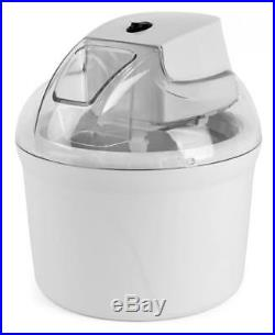 Ice Cream Maker 1.5L Yoghurt/Sorbet 600ml Ice Cream E3911WH ANTI SLIP MACHINE