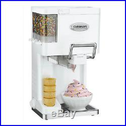 Ice Cream Maker Countertop Soft Serve Machine Mix Frozen Sorbet Yogurt Portable