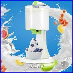 Ice Cream Maker Electric Machine Kids Home Soft Serve Ice DIY Beach Kitchen Auto