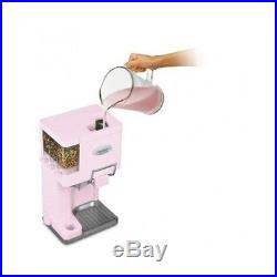 Ice Cream Maker Frozen Soft Serve Fully Automatic Mix New Machine 1-1/2 Qt Pink