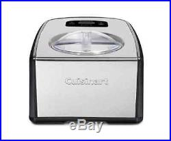 Ice Cream Maker Gelato Icecream Commercial Compressor 1.5 Qt Cuisinart ICE-100