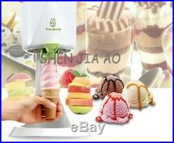 Ice Cream Maker Kids Home Soft Serve Ice Cream Machine Machine Beach Kitchen