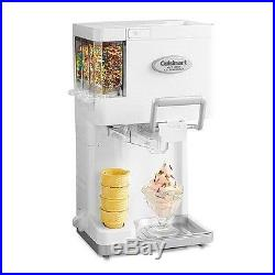 Ice Cream Maker Soft Serve Frozen Yogurt Sorbet Sherbet Electric Machine Freezer
