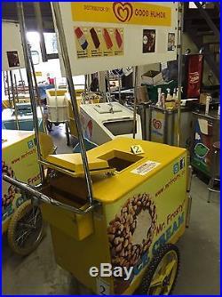 Ice Cream Peddle Bike Cart