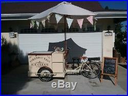 Ice Cream Serving Cart Electric Tiramisu electric trike ice cream bikes Vending