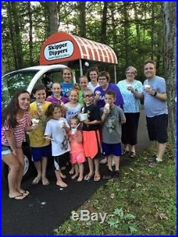 Ice Cream Truck (Cart) GEM Car, Mobile Ice cream cart