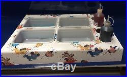 Ice Cream Van Display Dispenser Stand Toppings Sauce Juicebottle Desi Teddy Bear