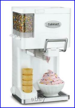 Ice Cream Yogurt Maker Machine Soft Serve Dispenser Summer Home Kids Sorbet NEW