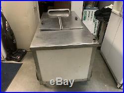 Ice cream cart / Italian ice push cart / Ice cream dipping cabinet