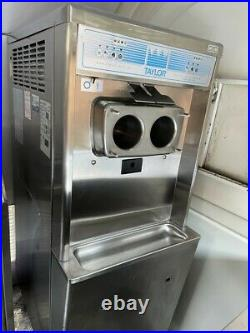 Ice cream concession trailer with Taylor soft serve ice cream machine. Brand new