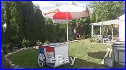 Ice cream freezer push cart in GREAT SHAPE