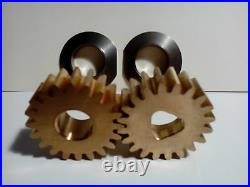 Ice cream gears and liners for Carpigiani machine