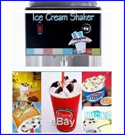 Ice cream mcflurry machine blizzard ice cream mixer shaker blender machine