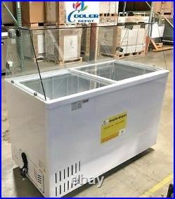 Ice-sucker popsicle mold pop machine maker freezer case nsf SD400P 53 ins