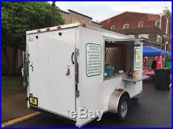 John Deere Hit & Miss Two 5 Gallon Ice Cream Machine with concession trailer