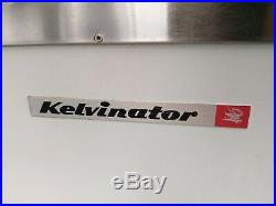 KELVINATOR 6DF-13 ICE CREAM CHEST CABINET 9 FACING 3 GAL CAN With FOUNTAINETTE TOP