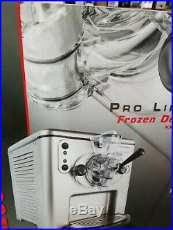 KitchenAid KPFD200SS Pro Line Frozen Dessert Maker/Dispenser NOS New Open Box