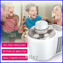 Kitchenhouse Fully Automatic Ice Cream Machine, 700 ml