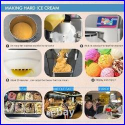 Kolice Commercial heavy duty ETL CE 45-55L/Hour gelato hard ice cream machine