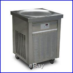 Kolice ETL UL NSF 22 (55cm) single round pan fried ice cream roll machine