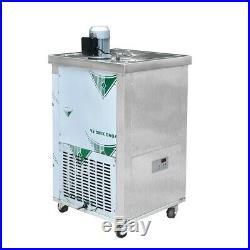 Kolice brazilian two slim molds ice popsicle machine, ice lolly making machine