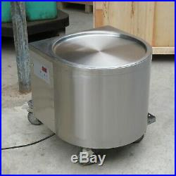 Kolice commercial tabletop single 45cm round pan fried ice cream roll machine