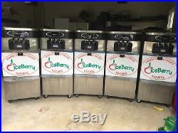 Late 2012 Taylor C723-33 Twin Twist Soft Serve Frozen Yogurt Ice Cream Machine
