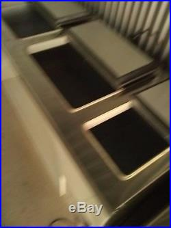 Master-Bilt 67 Ice Cream Dipping Freezer Storage Cabinet Double Doors