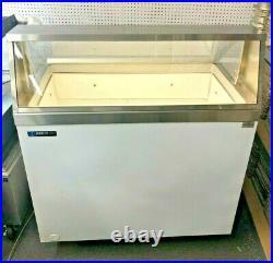 Master-Bilt DD-46 Ice Cream Dipping Cabinet 8 Flavor Classic 9.6 Cu. Ft