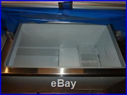 Master-Bilt Freezer DD-88 Ice Cream Dipping Cabinet 22.5 Cubic feet New 115v 1ph