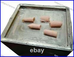 Mini Desktop Electric Yogurt Ice Cream Rolled Fried Ice Cream Roll Maker Machine