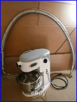 NEIL LIQUID NITROGEN ICE CREAM MACHINE MODEL NES7 WithJACKETED TRANSFER HOSE