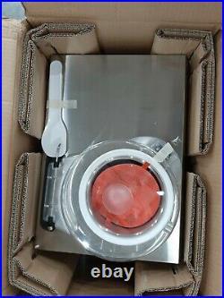 NEMOX 36790 Chef 5L Gelato-Ice Cream Machine, 2.5 Quart Bowl Capacity, Stainless