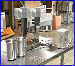 NEW Commercial Double Milkshake Mixer Machine Ice Cream High Speed Mixing 110V