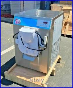 NEW Gelato Machines Batch Freezer Gelato Ice Cream Dipping Cabinet Freezer NSF