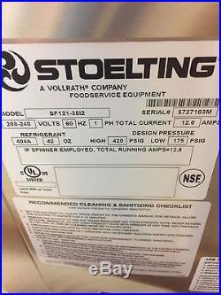 NEW Stoelting SF121 Soft Serve Ice Cream and Shake Machine with Blender