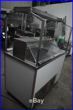 Nelson CG-9RB Double Sided Ice Cream Buffet Cart